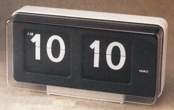 Bq 50 reloj de paletas hora minuto relojes lectura directa for Reloj digital de mesa